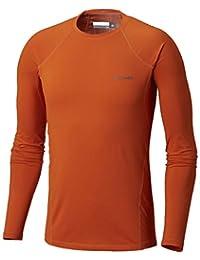 Columbia Men Baselayer Top Midweight Stretch, Größe:XL, Farbe:Backcountry Orange