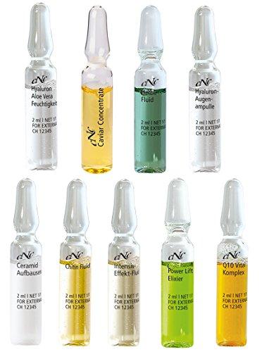 24 TAGES INTENSIV KUR Gesichtspflege 24 Ampullen 10 verschiedene Sorten Ampulle a 2ml Hyaluron Serum...