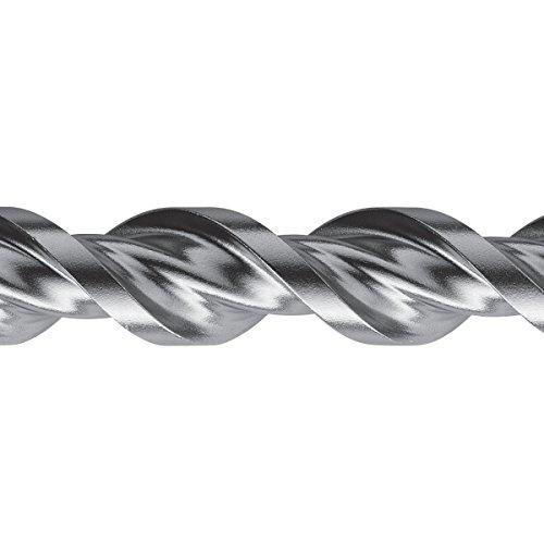 S&R Professional Hammerbohrer SDS-Bohrer-Set, Betonbohrer SDS Plus 7-tlg: 5,6 ,8 x 110mm; 6,8,10,12 x 160mm für Beton, Granit, Stein. Bohrer für Bohrhammer und Schlag-Bohrmaschine. MADE IN GERMANY - 3