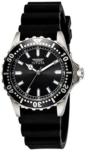 41ZQr%2BlqjHL - Invicta Mens Quartz with Display and Silicone Strap 21562 watch