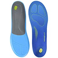 Superfeet RUN Comfort Thin Sport Insole, Blue (Bolt), 10 UK