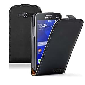 Membrane - Ultra Slim Noir Etui Coque compatible pour Samsung Galaxy Core II (SM-G355H / Galaxy