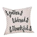 Luckycat Happy Thanksgiving Kissenbezug Home Sofa Bett Dekor Quadrat Kissenbezug Mode 2018
