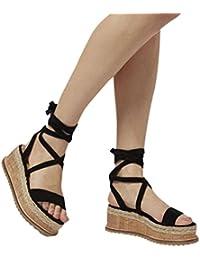 Sommer Sandalen Frauen Dick Unten Fisch Mund Schuhe Reine Farbe Größe Römische Schuhe, Hellbraun, 42