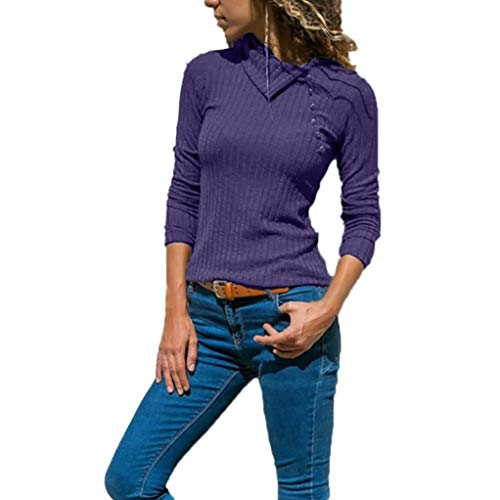 Damen Bluse Xiantime Damen Sexy Casual Streifen T-Shirt Langarmshirts Bluse Mode Damen Bluse Tuniken...