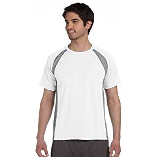 Allsport Medical Alo Men's Color Blocked Crewneck Shirt - Multicoloured - S