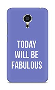 AMEZ today will be fabulous Back Cover For Meizu MX5