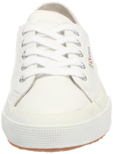 Superga 2750 Fglu, Sneakers Basses mixte adulte, Noir (A09 Full Black), 45 EU Blanc (900 White)