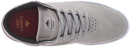 Emerica Shoes - Emerica The Hsu G6 Shoes - Black/white Grey/White