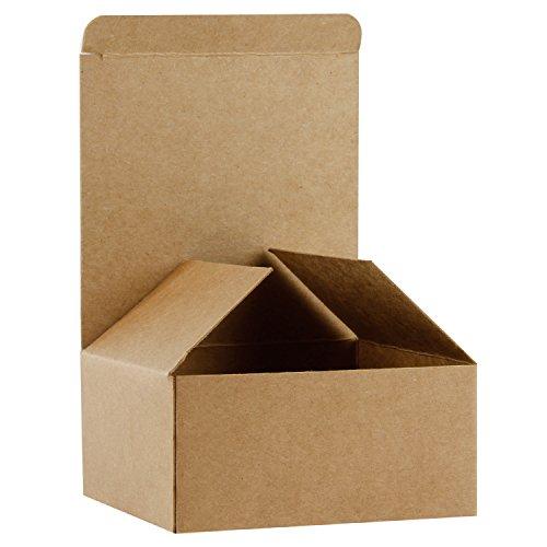 RUSPEPA Cajas De Regalo De Cartón Reciclado - Caja