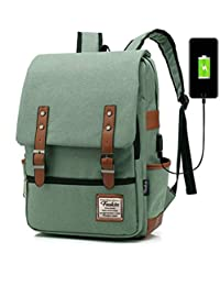 Kriva Canvas Laptop Backpacks Men Oxford Travel Leisure Backpacks (Assorted  Color) - 1pc 13f0088668eec
