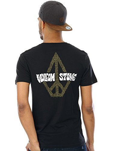 Herren T-Shirt Volcom Sludgestone BSC T-Shirt Schwarz