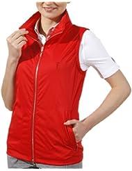 golfino Micro Waistcoat Femme Rouge