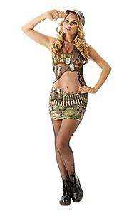 Rubies - Disfraz Oficial de Annie del ejército Real de Apelaciones para Adultos, para Despedida de Soltera, Despedida de Soltera, Sexy, Talla XS