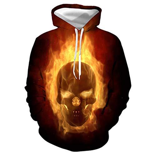 JIAMENG-Halloween Sweatshirt, Jungen Mädchen Hoodie 3D Print Kapuzenpullover Sweatshirts Mit Kapuze Pullover (Teenager Schwarze Witwe Kostüm)