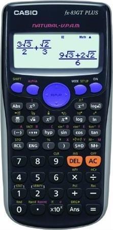 Casio FX83GT Plus, Wissenschaftlicher Taschenrechner, batteriebetrieben