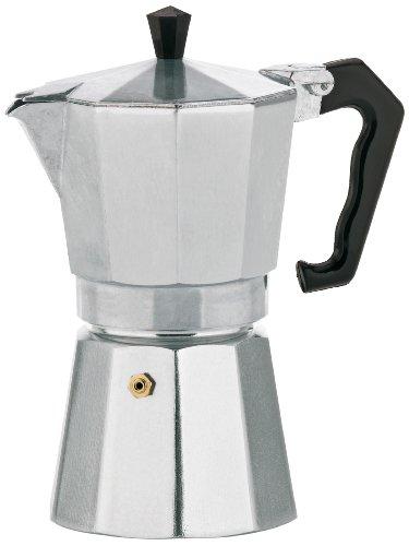 Kela 10591 Espressokocher, Für 6 Tassen, Aluminium, Italia -