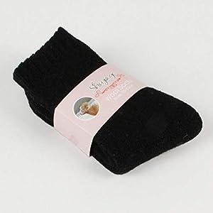 CXKWZ Damensocken 1 Paar Frauen Dicke Warme Socken Winter Casual Solid One Size