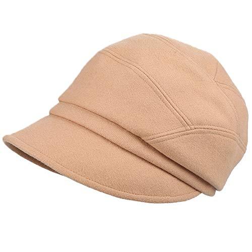 kyprx Gestrickte Wolle Hut Kuppel Kostüm lässig Kopf Mütze warme Tuch Hut Kamel - Katze Im Kamel Kostüm