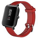 para Xiaomi Amazfit Bip Youth, Banda de Reloj Deportiva de Silicona Suave de Repuesto Correa de Reloj Absolute