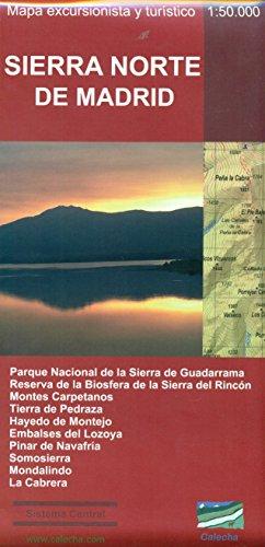 Sierra Norte de Madrid. Mapa excursionista y turístico por Alberto Álvarez Ruiz