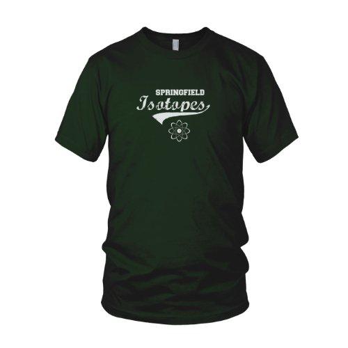 Springfield Isotopes - Herren T-Shirt Dunkelgrün