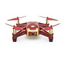 DJI Ryze Tello Mini Drone Ottima per Creare Video con EZ Shots, Occhiali VR e Compatibilità con Controller di Gioco, Trasmissione HD a 720p e Raggio di 100 Metri, Edizione Iron Man