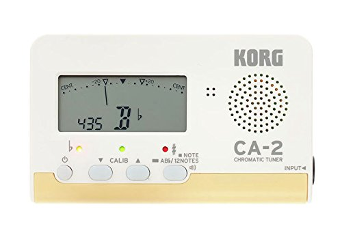 Korg CA-2 Chromatic Digital Tuner for stringed, woodwind and brass instruments
