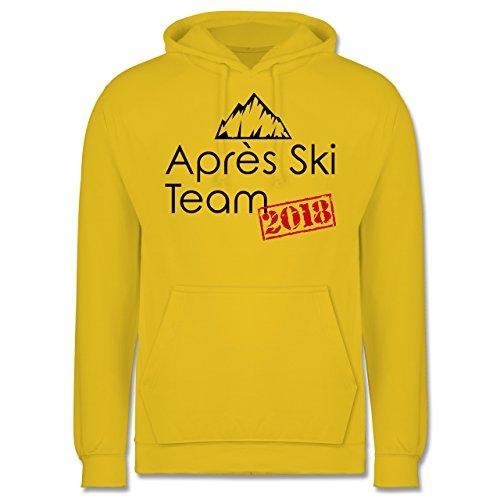 Après Ski - Après Ski Team 2018 - Herren Hoodie Gelb