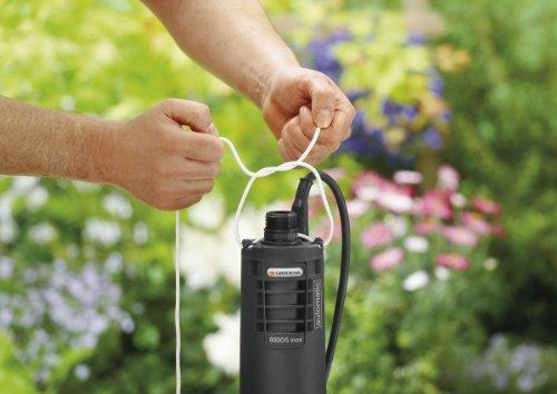 Gardena 1499-20 Tiefbrunnenpumpe Premium 6000 / 5 inox automatic -
