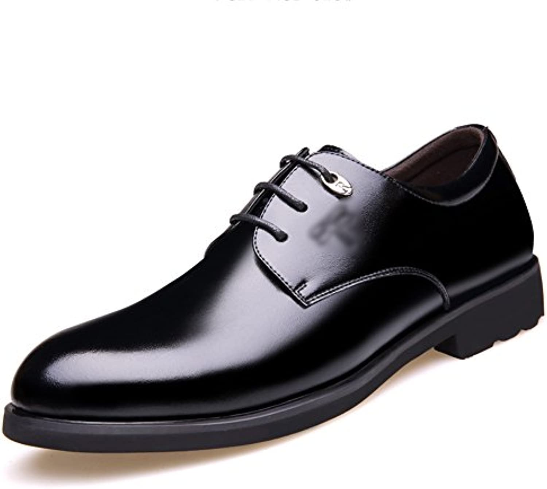 Zapatos De Boda De Cuero Genuino Para Hombres Zapatos De Uniforme Antideslizante Clásicos Para Hombres Zapatos... -
