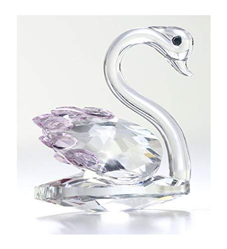 H y D cristal figura de cisne colección Pisapapeles adorno de mesa ce