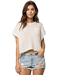 Roxy Juniors Breezydays Crew Neck Sweater