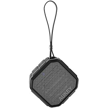 AUKEY Mini Haut-Parleur Bluetooth Enceinte Portable avec Microphone intégré Appel mains libres pour iPhone, Samsung, HTC, iPad, Tablettes, PC, ect