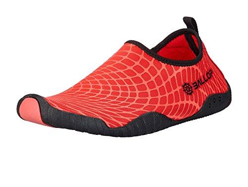 Ballop Spider Barfußschuh, rot, 37.5-38