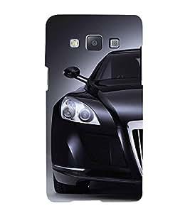 FUSON Superb Black Sports Car 3D Hard Polycarbonate Designer Back Case Cover for Samsung Galaxy A7 (2015) :: Samsung Galaxy A7 Duos (2015) :: Samsung Galaxy A7 A700F A700Fd A700K/A700S/A700L A7000 A7009 A700H A700Yd