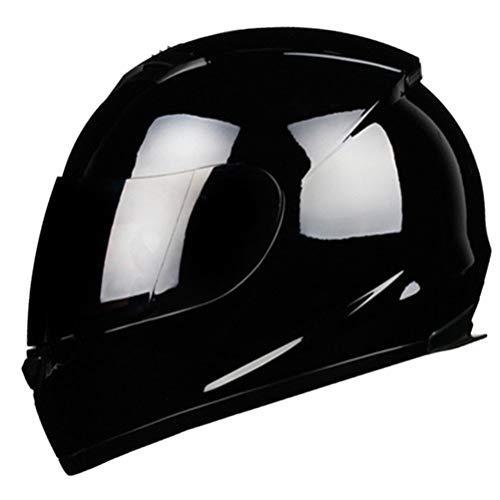 Uomini donne universali caschi integrali inverno caldo copertura integrale casco motocross lente a colori protezione contro gli urti all'aperto mountain road moto casco regalo