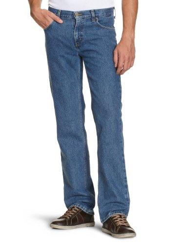 lee-jeans-droit-homme-bleu-dark-stonewash-36-34-taille-fabricant-w36-l34