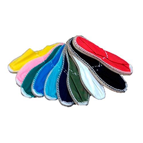 Alpargatas bunten Esparto Made in Spain mehrfarbig Mehrfarbig