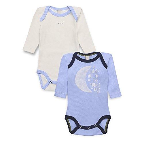 ESPRIT KIDS Baby - Jungen Body RK60040,  (Multicolor), 6-9 Monate (Hersteller Größen:6  Mo Preisvergleich