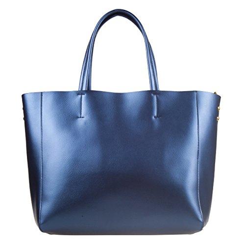 S-Zone Frauen Dame Leder Tasche Handtasche Schultertasche