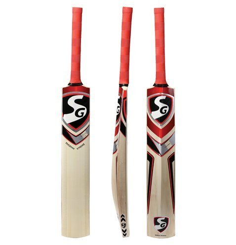 SG Phoenix Extreme Kashmir Willow Cricket Bat, Short Handle (Color May Vary)