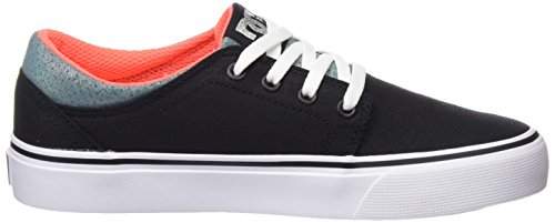 DC Shoes  Trase TX SE, Sneakers Basses garçon Black/Multi/White