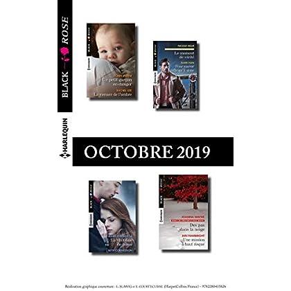 11 romans Black Rose (n°555 à 558 - Octobre 2019)