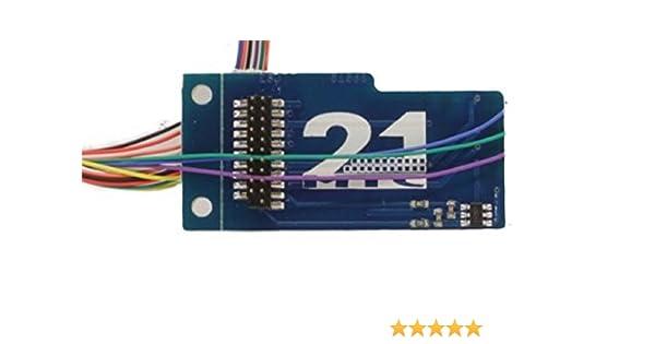 ESU 51958 Adapterplatine PluX22 für 9 Ausgänge Neu