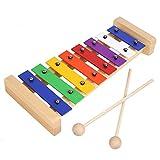 MVPOWER Xilófono Juguete de Madera de Instrumento Musical para Niños Juguete...