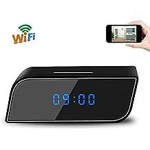 Reloj Espía Cámara UYIKOO Mini Reloj Cámara Oculta 1080P HD Wifi P2P Reloj Seguridad Cámara Cámara Soporte Noche / Detección de Movimiento para IOS / Teléfono Android