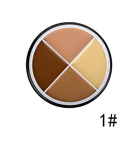 Pure Vie® Concealer Abdeckcreme Camouflage Palette Cover Abdeck Makeup mit 4 Farben Mode #1