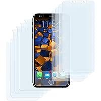 8 x mumbi Schutzfolie für iPhone X Folie Displayschutzfolie (4 x VORNE und 4 x RÜCK Folie)