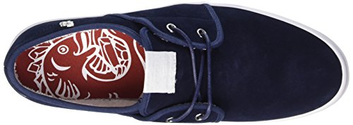 Base London Spam 2, Baskets Basses homme Bleu (Navy)
